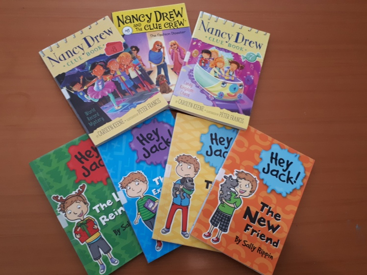 childrens chapter books- plus early readers
