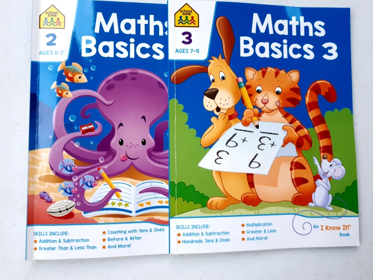 childrens math workbooks for home use