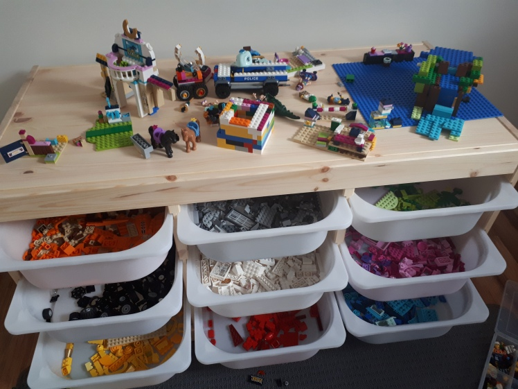 Every Day Begins New Blog- Lego Storage