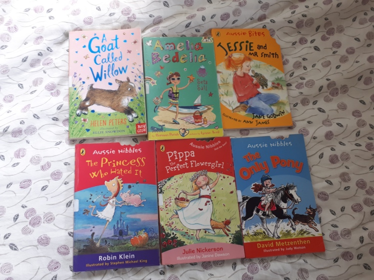 Library books for Miss 7