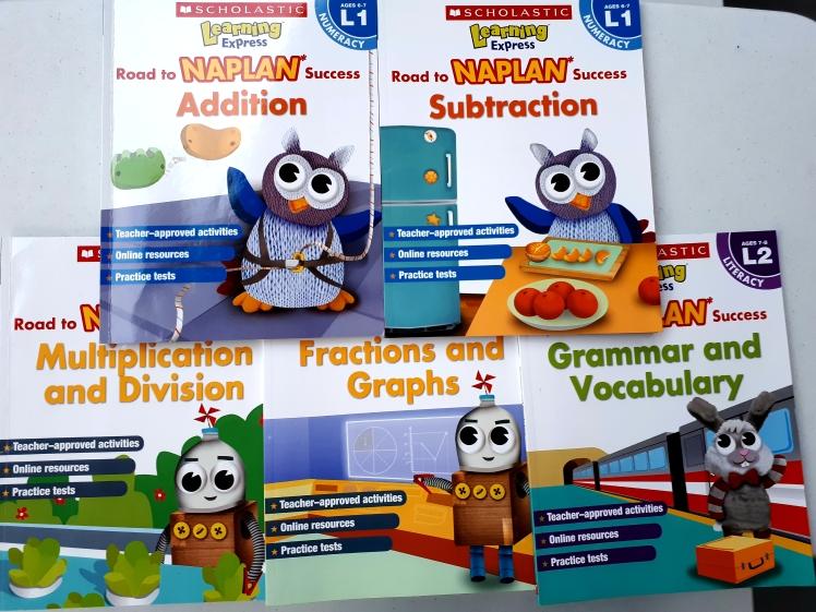 Naplan practice books