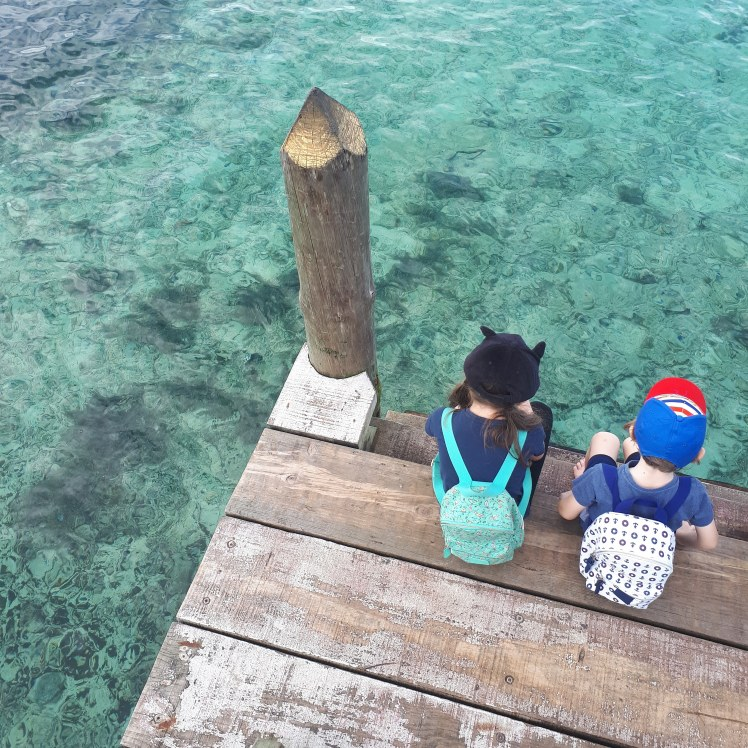 Kids in Fiji- family travel
