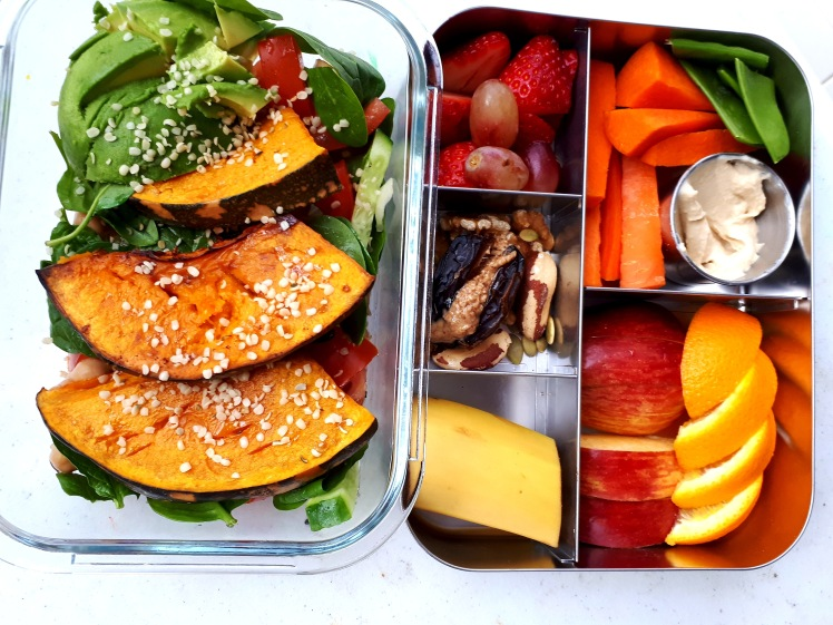Healthy whole food meal prep