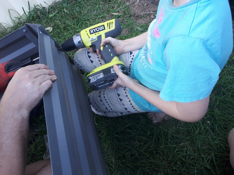 Montessori at home- using real power tools