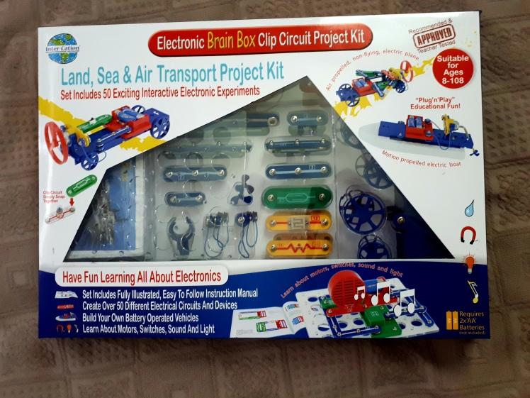 Clip circuit kit for kids