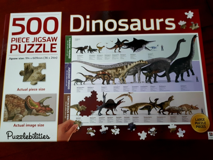 Jigsaw puzzle 500 pc
