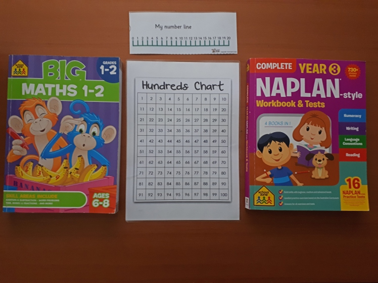 At home learning workbooks
