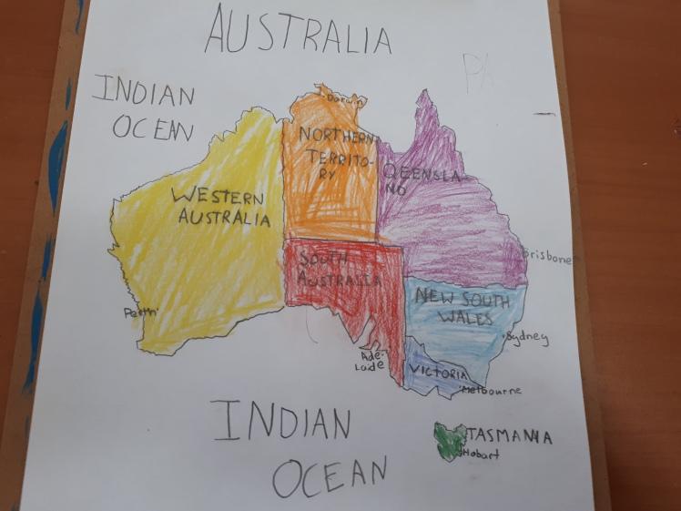 Map work- Australia
